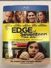 THE EDGE OF SEVENTEEN BLURAY ONLY EDITION ***NEW FACTORY SEALED***