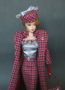 OOAK Fashion for Silkstone Barbie, Victoire Roux FR by Rebecca
