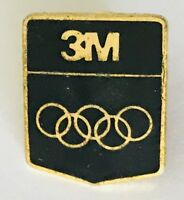 3M Sponsor Olympics Pin Badge Vintage Authentic (C12)