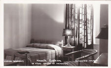 RP, Typical Bedroom , Manoir Clairval, CHICOUTIMI, Quebec, 30-40s