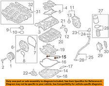 AUDI OEM 15-17 A3 Quattro Engine-Lower Oil Pan O-ring N0282222