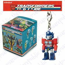 Kidrobot Transformers Vs G.I Joe Vinyl Figure Keychain Series Optimus Prime 3/24