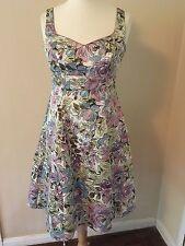 Debut Debenhams Size 12 Vintage Style Dress Stunning, unique, fabulous