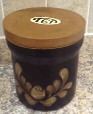 DENBY BAKEWELL TEA JAR