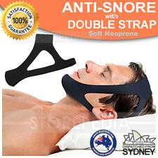 Anti Snore Chin Strap AntiSnore Stop Snoring Solution Chin Support Sleep Belt AU