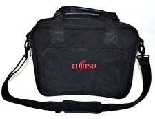 Fujitsu Laptop Projector Scanner Bag Case Carrying Travel Storage Zipper Black