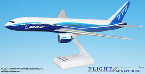Flight Miniatures Boeing 777-200 House Colors Demo Livery 1:200 Scale New