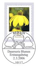 BRD 2006: Sonnenhut Nr. 2524 mit Berliner Ersttags-Sonderstempel! 1A! 1606