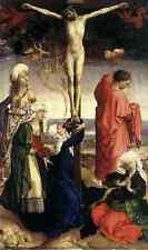 Weyden Crucifixion 1440S A4 Print