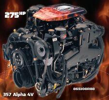 MERCRUISER 357 ALPHA 4V 275 HP MARINE ENGINE - NEW!