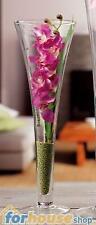 Vaso vetro flute alto 60cm 34769 ad