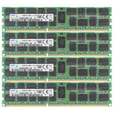 For Samsung 84GB 4X16GB 2RX4 PC3L-12800R DDR3L-1600MHz ECC Registered Server RAM