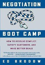 Negotiation Boot Camp: How to Resolve Conflict-ExLibrary