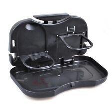 Universal Auto Car Back Seat Table Folding Drink Food Cup Tray Holder Stand Desk
