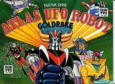 FIGURINE ATLAS UFO ROBOT GOLDRAKE (NUOVA SERIE) EVADO SCAMBIO MANCOLISTE ALBUM