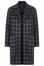 Topshop Button Knee Length Outdoor Coats & Jackets for Women