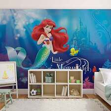 Disney Wallpaper mural for children's bedroom Ariel Mermaid Disney photo wall