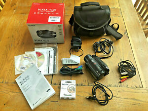 Canon VIXIA HG20 60GB Hard Drive Camcorder w/ 12x Optical Zoom - MINT w/ extras!