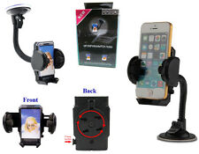 UNIVERSAL In Car Windscreen Mount Suction Holder Cradle for Mobile Phones 360°