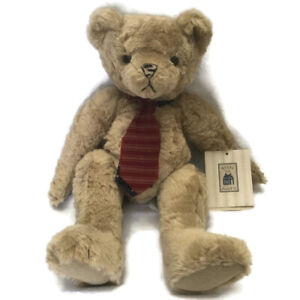 Vintage Hallmark 1997 Teddy Bear Plush Beige Where The Heart is Collection