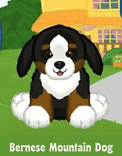 *Messaged* Webkinz Bernese Mountain Dog Puppy *Unused Code Only*