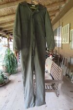 VINTAGE BROWNING SPORTSMANS APPAREL HUNTING COVERALLS LINED GREEN Large USA