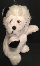 "Vintage 1980's ETONE White Lion 11"" Carnival Fair Prize RARE 1984"