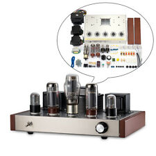 HiFi Stereo EL34 Vacuum Tube Amplifier Class A Single-ended Power Amp DIY KIT