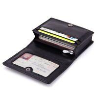Fashion Designer Women Leather Short Wallet Zipper Pocket Coin Purse Card Holder