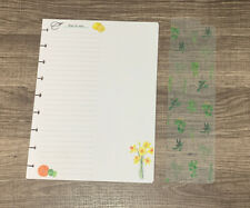 Happy Planner 20-pc CLASSIC Gardening Filler Paper & Bookmark