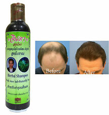 Jinda Herbal Fresh Mee Ancient formula Helps hair grow growth Natural Shampoo