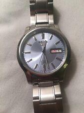 NICE SEIKO 5 Automatic 21 Jewel Mens Skeleton Back Wrist Watch 7S26-02J0