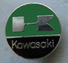 KAWASAKI - Emblem / Logo- Pin - rund - emailliert - Motorcycle - Kult