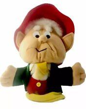 "Vintage 1988 Keebler Cookie Ernie Elf Advertising 12"" Plush Puppet Rare HTF"