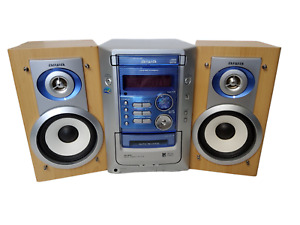 Aiwa Compact Disc Stereo System With Working Cassete Player Model CX-LM191U.