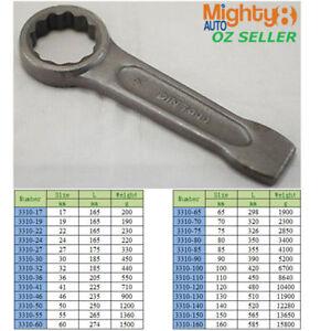Strong Slugging Ring Spanner Slogging/Striking/Flogging High Quality 52mm -155mm
