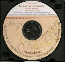 Kentucky and Kentuckians Vol 1,2 & 3 -  Hist.Genealogy