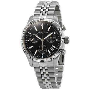 Mathey-Tissot Type 22 Chronograph Black Dial Men's Watch H1822CHAN
