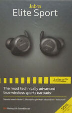 Jabra - Elite Sport Earbud Wireless Headphones - Black