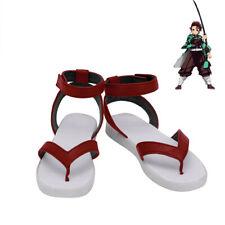 Demon Slayer Kimetsu No Yaiba Tanjiro Kamado Shoes Cosplay Men Boots