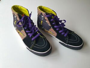 2009 Vans x Kiss Hotter than hell sk8-hi Sneakers Shoes SZ 10 Mens Pre-owned