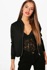 Boohoo Patternless Petite Coats & Jackets for Women