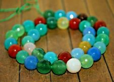 New extra long strand High Quality Stone Beads -  12mm Mixed Agate - A4691c