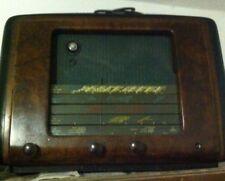 RADIO d'epoca a valvole da collezione in radica Siemens ITALIA  anni 30-40 rara