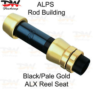 ALPS ALX Quality Aluminium Reel Seat, Heavy Duty Spin or Overhead Reel Seat