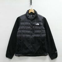 The North Face 550 Down Insulated Fleece Jacket Womens Size Small Black TNF