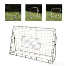 Football Soccer Goal Net Rebounder Trainer Rebounding Training Shooter Equipment