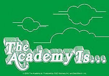 THE ACADEMY IS Clouds Green Sticker NEW OFFICIAL MERCHANDISE RARE (All Time Low)
