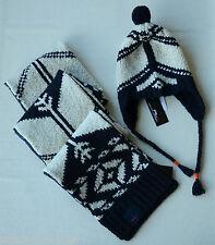 NEW Ralph Lauren Nordic Wool-Alpaca Blend Hat/Scarf 2-Piece Set - O/S