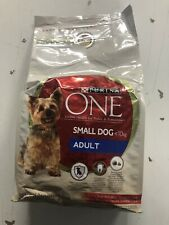 Purina ONE Small Breed Adult Beef Dry Dog Food - 1.5kg - Free Delivery